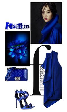 """Just my blues"" by shaneeeee ❤ liked on Polyvore featuring French Connection, 3.1 Phillip Lim, Giuseppe Zanotti, Chanel, women's clothing, women's fashion, women, female, woman and misses"