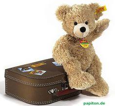 Steiff Teddybär Fynn im Koffer beige 28 cm 111471 bei Papiton bestellen.
