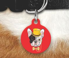 French Bulldog Pet Tag- Frenchie Pet Tag-French Bulldog Dog Tag-Double Sided Pet Tag-Personalized Pet Gifts-Dog Tag for Dogs- French Bulldog by MysticCustomDesignCo on Etsy