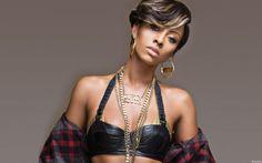 Dark short haircut of Keri Hilson #hairstyles #hairstyle #hair #long #short #medium #buns #bun #updo #braids #bang #greek #braided #blond #asian #wedding #style #modern #haircut #bridal #mullet #funky #curly #formal #sedu #bride #beach #celebrity #simple #black #trend #bob