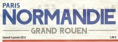 Pour 2014, Paris-Normandie apporte son aide ! Bonjour � tous.
