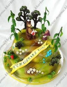Торт в Харькове-Маша и Медведь