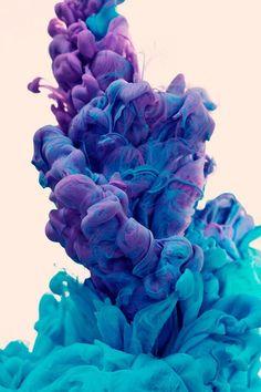 morado azul y turquesa super linda esa conbinacion