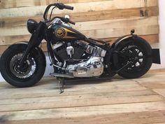 Harley Davidson Softail Deluxe total Umbau