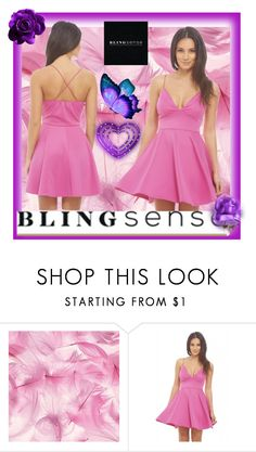 """""""BLINGSENSE"""" by alma-ja ❤ liked on Polyvore featuring AX Paris"""