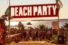 The primary daytime venue at Outlook Festival. the beach! Equipped with beach parties, BBQ, music, and water activities Outlook Festival, Croatian Islands, We Are Festival, Water Activities, Beach Party, Edm, Musicals, Explore, Festivals
