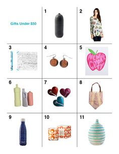 2015 Holiday Gift Guide: Gifts Under $50 / Available in the Art Center's Museum Shop!