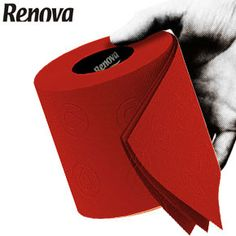 Renova Toilet Tissue - Red Paper, £8.70 for 6 Roll Standard Pack