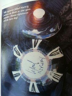 Sidsel Hartvik-Norge Pottery Marks, Stoneware, Scandinavian, Glass, Movie Posters, Art, Art Background, Drinkware, Corning Glass