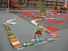 Picture Book Putt-Putt at the Sault Ste. Marie Public Library 2016. We turned the children's area into a 9 hole mini-golf course. View the album to see all 9 holes.