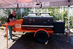 @Grillstock Custom Yoder Smokers Trailer #BBQ #UK #LOWandSLOW #WhyIYoder #TeamYoder