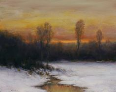 dennis sheehan paintings | Dennis Sheehan, Winter Silence