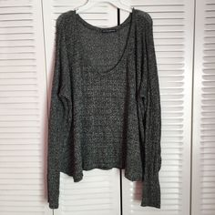 Brandy Melville Ivory Knit Sweater Brand new without tags, one size. Brandy Melville Sweaters Crew & Scoop Necks
