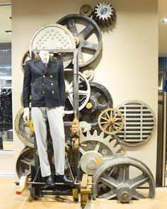 "BERGDORF GOODMAN,(Instore),New York, ""Wheels in Motion"", pinned by Ton van der Veer"