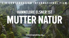 Nature Is Speaking: Hannelore Elsner ist Mutter Natur