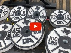 Stix and Stone | Concrete Weight Plate Molds Diy Power Rack, Stix And Stones, Weight Rack, Diy Home Gym, Home Gym Design, Gym Gear, Wooden Diy, No Equipment Workout, Concrete