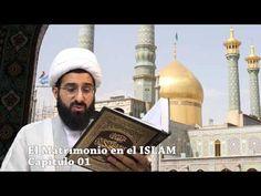 el matrimonio en el islam Capitulo 01, Sheij Qomi, con el fondo de santu...