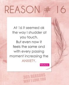 Reasons Why I Love You #16