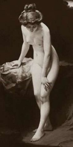 Amelia Poster Print by Vintage Nudes (10 x 20)