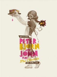 PBJ #poster #retro #modern