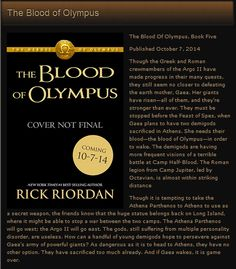 this can't possibly turn out well. Percy Jackson Blood on Olympus