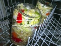 Κουζινοπαγίδα της Bana Barbi: Λάχανο τουρσί στο πλυντήριο πιάτων
