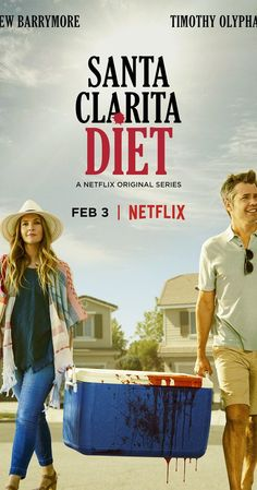 Created by Victor Fresco.  With Drew Barrymore, Timothy Olyphant, Thomas Crawford, Christina Ferraro. Sheila and Joel, a married couple, are real estate agents in Santa Clarita, California. When Sheila dies, their lives take a dark turn.