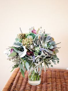 Beautiful & Unique Succulent Bouquet