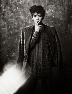 Minho - W Magazine December Issue '12