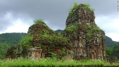 My Son Sanctuary, a series of temples built centuries ago, was the religious and political epicenter of the Champa Kingdom. Today, it is a UNESCO World Heritage site and a dramatic example of the influence of Indian Hinduism in central Vietnam.