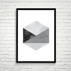 Hey, I found this really awesome Etsy listing at https://www.etsy.com/listing/236128102/printable-geometric-wall-art-hexagon