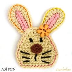 Instructions - Bunny (Application). C1.42 for pattern. 5/14.