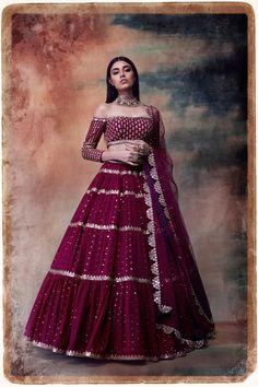 Indian Gowns Dresses, Indian Fashion Dresses, Dress Indian Style, Indian Designer Outfits, Designer Party Wear Dresses, Designer Gowns, Designer Bridal Lehenga, Wedding Lehenga Designs, Lehenga Skirt