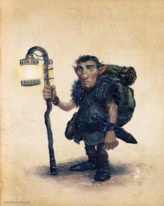 Gnomes -Ilich Henriquez by Ilacha.deviantart.com on @DeviantArt