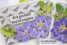 Floral Layers - Sizzix 664359 Layers, Scrapbook, Flower, Cards, Layering, Scrapbooks, Maps, Playing Cards, Scrapbooking