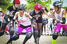 As the World Turns, So Do the Wheels of Roller Derby | Wall Street Journal!