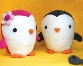 cute plush penguins :)