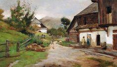Aggházy Gyula (1850-1919) - Körmöcbánya - Felvidék - Slovensko Master Art, Painters