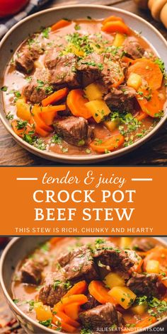 Beef Stew Crockpot Easy, Crockpot Dishes, Slow Cooker Beef, Crock Pot Cooking, Beef Dishes, Crock Pot Stew, Beef Stee Crockpot, Slow Cooked Beef Stew, Crockpot Beefstew