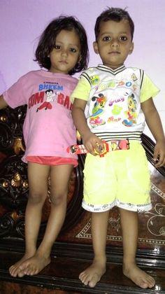 Amshum with Ishika