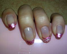 Le petit-pois rose - Nature Nails Nail Art by Tenshi no Hana
