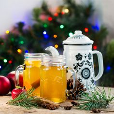 After a busy day of activities and a brisk walk back to your lodge, you can warm up with a glass of mulled cider.