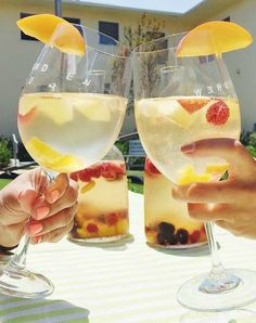 delicious white-wine sangria recipe