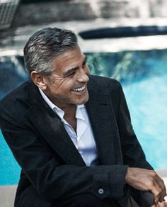 A great smile always does it! George Clooney