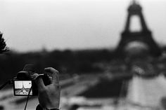 paris photography in camera