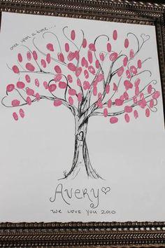Guest Thumb Print Tree