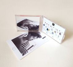 EXO ALBUM PICTORIAL OFFICIAL GOODS EXODUS HAND MIRROR - (New)