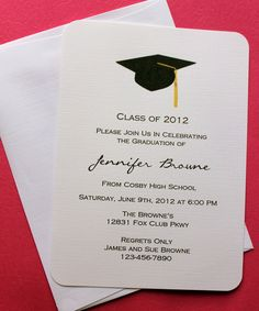 10 best sample graduation invitation images on pinterest graduation invitation template filmwisefo