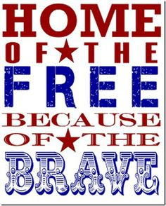 Free patriotic printables for your patriotic party