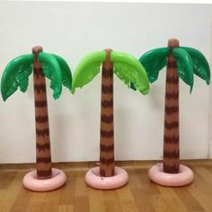 Energetic 90cm Inflatable Tropical Palm Tree Pool Beach Party Decor Toy Outdoor Supplies Air Purifier Parts